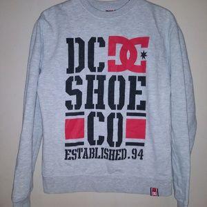 Dc shoe co crewneck sweatshirt